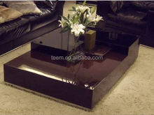 2015 Divany Furniture T-55A-B carved wood coffee table house and home furniture