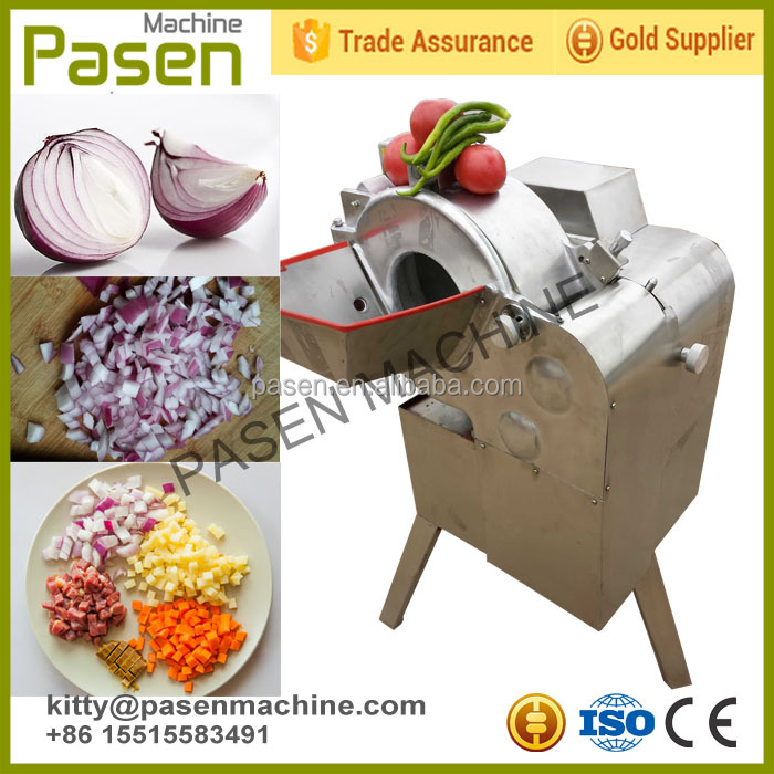 High efficiency fruit cube dicing machine/vegetable dicing machine/vegetable and fruit dicer machine
