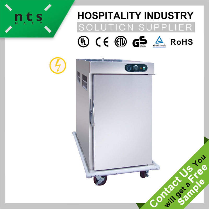 commercial electric food warmer trolley