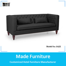 Scandinavian design vintage Tufted chesterfield velvet fabric sofa