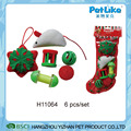 Wholesale Christmas Stockings Socks XMAS Cat Gift Toy Set
