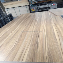 18mm double sides wood grain melamine faced mdf board in cheap price from Linyi