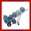 350kgs Load Transporting Metal Hand Rolling Water Bottle Truck