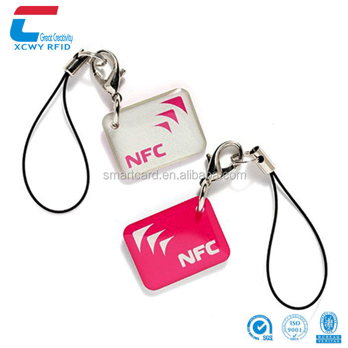 Hotel Access Control Beautiful Design Abs ID Writable Rfid Key Tag