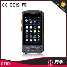 Wireless RFID card android bluetooth reader and 3G rfid smartphone