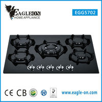 Discount Black glass Cast iron stove gas stove gas stove