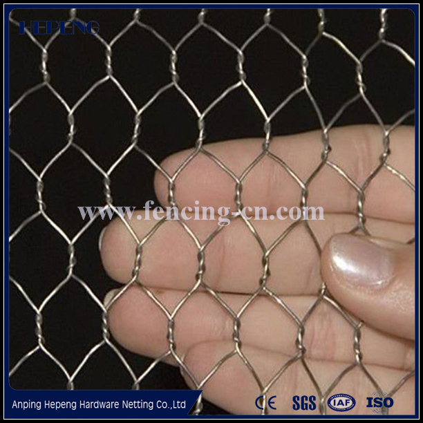 PVC coated Rabbit fencing mesh hexagonal wire netting