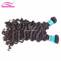 2013 hot selling beauty 100% unprocessed no shedding natural brown virgin glam hair
