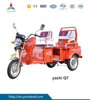 electric rickshaw motorcycle three wheels electric passenger car