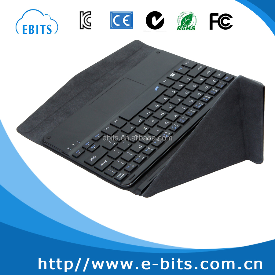 factory price 5 pin tablet pc detachable wired keyboard with touchpad usb port