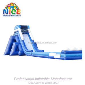 100% Niceinflatable Factory Inflatable Super Water pool Slides inflatable pool Slides for adults and kids