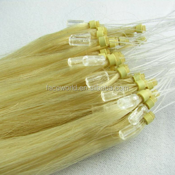 Top quality best selling kinky curly micro loop hair extension