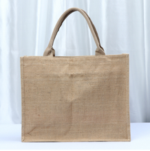Wholesale professional portable linen jute bag customize burlap tote bag