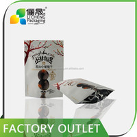 High quality and laminated printing layer aluminum foil stand up pouch/stand up pouch bag/resealable stand up pouch