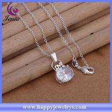 High quality 925 silver fashionable design cheap pendant 925 sterling silver pendant bail CP260