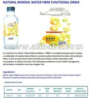 NATURAL MINERAL WATER FIBRE FUNCTIONAL DRINK