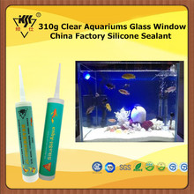 310g Clear Aquariums Glass Window China Factory Silicone Sealant