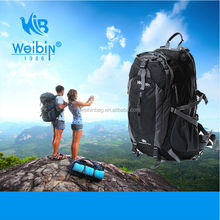 2014 Hebei new design hiking backpack with waterproof and durable nylon