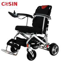 Advanced safety folding lightweight small electric power wheelchairs