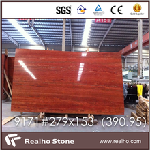 Polished Iranian Red Travertine Slabs For Sale