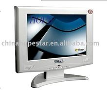 White or Black color VGA AV TV 10.4'' TFT LCD TV Car Monitors