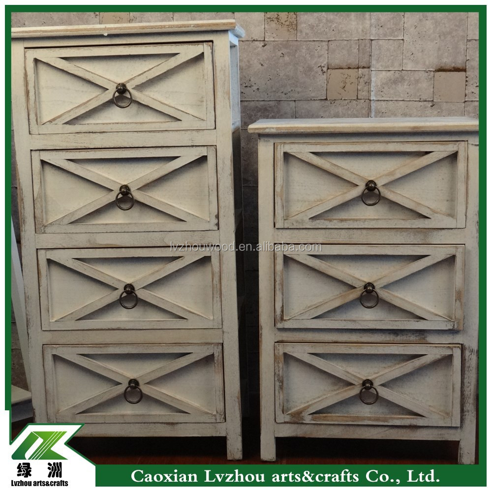 solid wood storage cabinet,kitchen cabinet with multi drawers