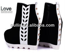wedges 2014 new style fashion women boots PBC2641