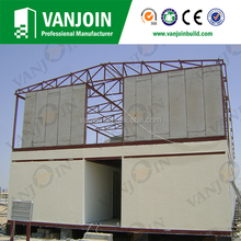 Fire proofing polystyrene concrete wall panels low cost house construction material