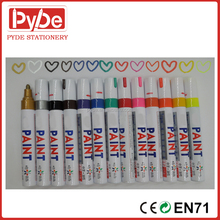 Oil-Based Paint Marker, Medium Point, Assorted Colors,