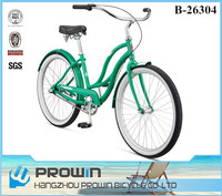 26 inch beach cruiser bike/adult chopper bicycle beach cruiser bike/beach cruiser europe (PW-B26304)