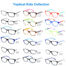 Wholesale Eye Wonder Blue Pink Green Kids Eyeglasses Frames Children Glasses Free shippings