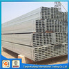 Multifunctional galvanized square tubing prices for wholesales