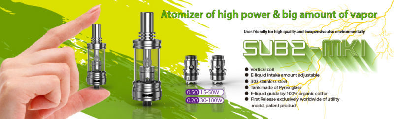Authentic MODVAPA Sub tank Mini Atomizer 22mm diameter MODVAPA subtank mini