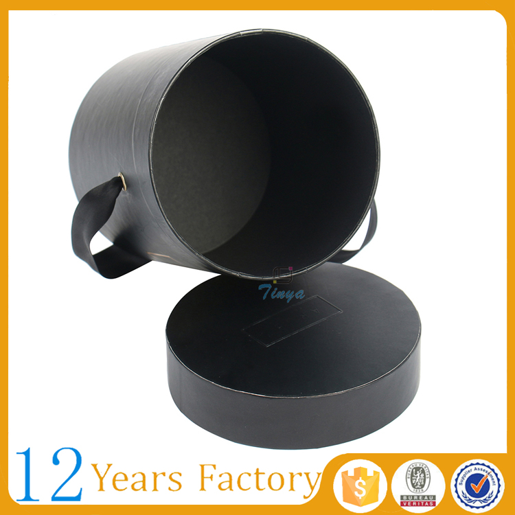 hot stamp ribbon round box paper lamination