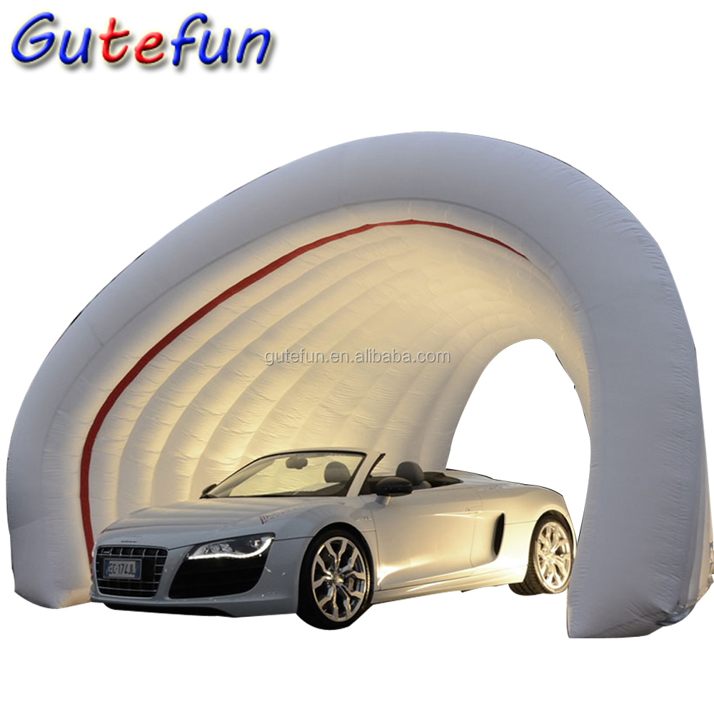 easy set up pvc waterproof outdoor inflatable car shelter customized inflatable car garage tent on sale