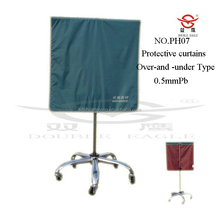 X-ray radiation protection movable screen