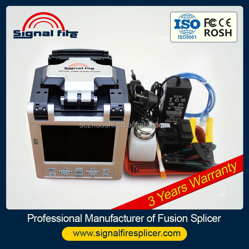 Optical Fiber Fusion Splicer /Fiber Spling Machine/Fibra Optica de Fusionadora
