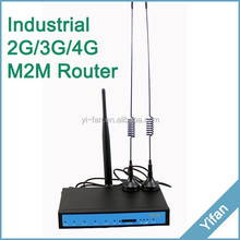 YF330-L Good quality 3G/4G Wi-Fi Vehicle ethernet wireless router RS232 rs485 4G LTE/HSPA+ Broadband Router