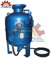 CE Manually Used Sandblasting Equipment/Sand Blasting Booth For Sale with paint spray line
