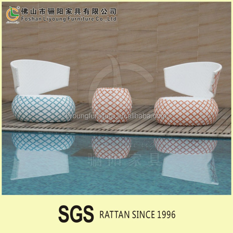 New model good design outdoor rattan furniture set All Weather pool side Wicker Sofa outdoor garden cane furniture