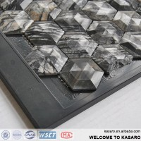 Outdoor Stone Wall Tile,Hexagon Floor Tile, Italian Marble Stone Flooring Tile(KESR15071)