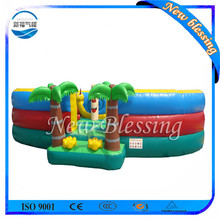 Printing Logo Giant Inflatable City Playground
