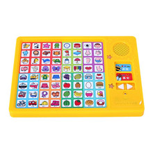 64 button kids sound book for education toys,wholesale educational toys for baby music book