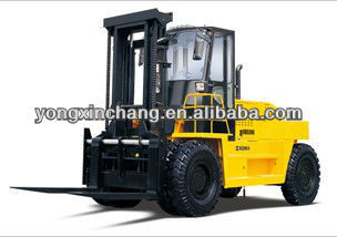 Cheapest 20 Ton diesel forklift truck gift free easy damaged parts for sale