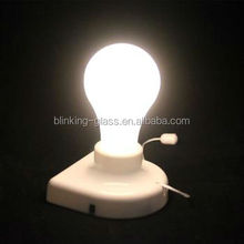 Stick-up bulb led flashing bulb house use fashion &convient led stick up light bulb using with battery