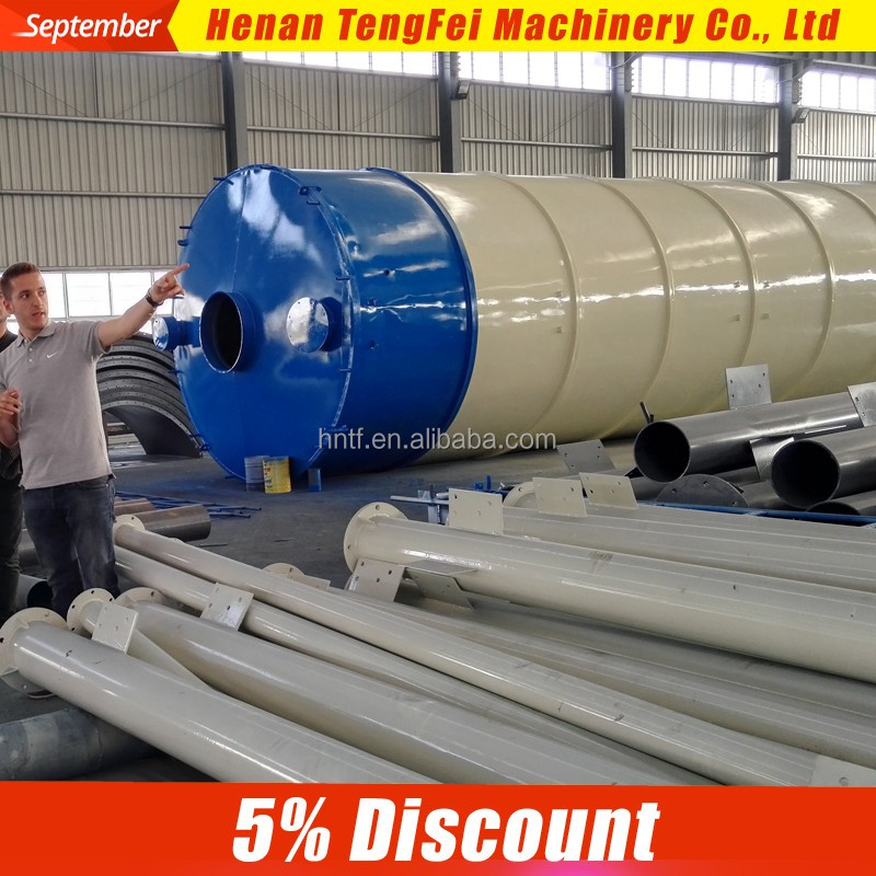 200T Steel storage silo portable cement silo/bolted detachable cement silos for sale