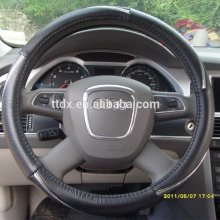 Car/auto/pick up truck/bus steering wheel cover maker auto accessories