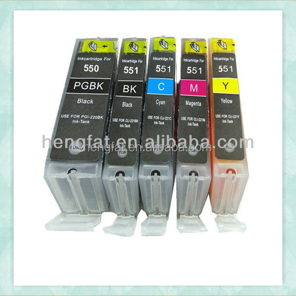 For Canon Printer Cartridges PGI550 CLI551 Ink Cartridge