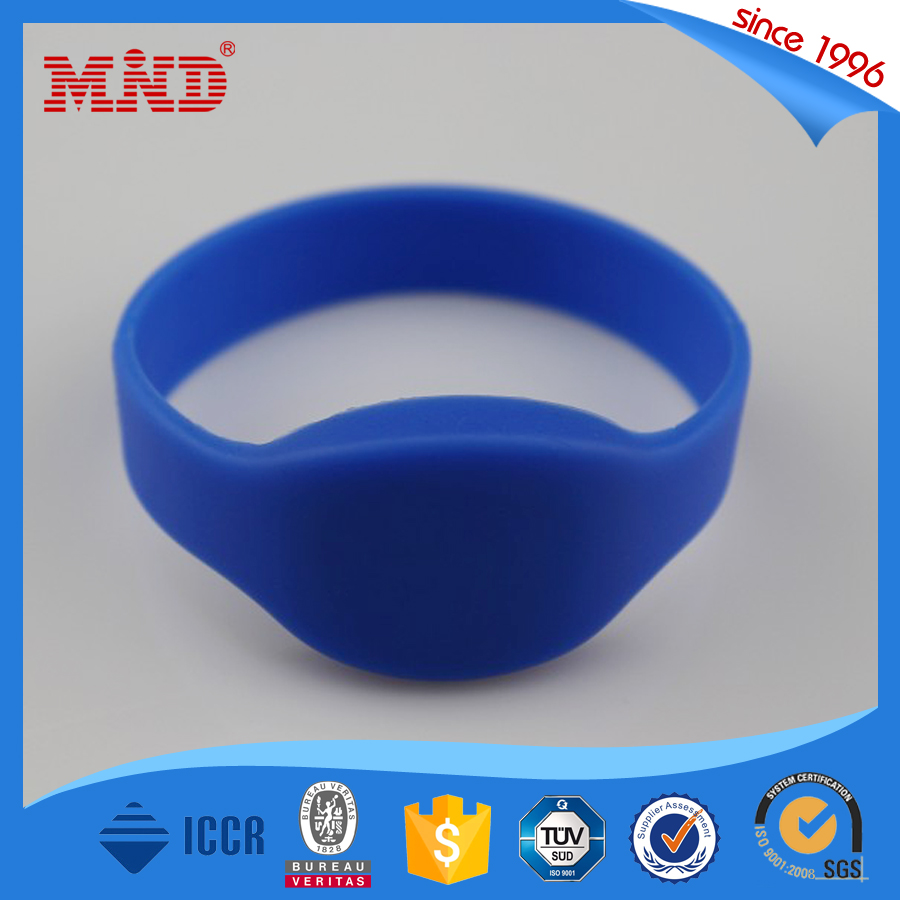 MDSW18 High quality Custom rfid silicone wristbands/bracelets for events