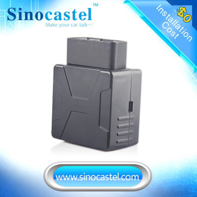 Sinocastel web vehicle monitoring gps phone tracking